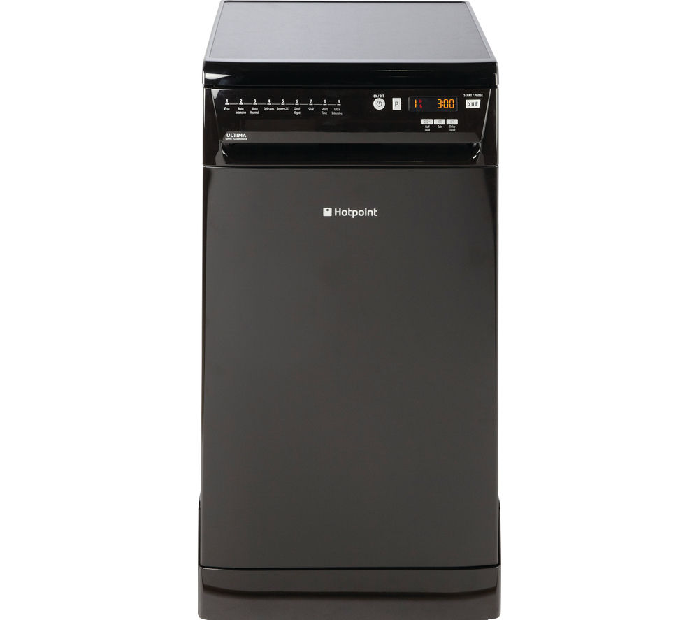 buy hotpoint ultima siuf32120 k slimline dishwasher. Black Bedroom Furniture Sets. Home Design Ideas