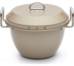 PAUL HOLLYWOOD PHHB65 1 litre Non-stick Pudding Steamer - Gold