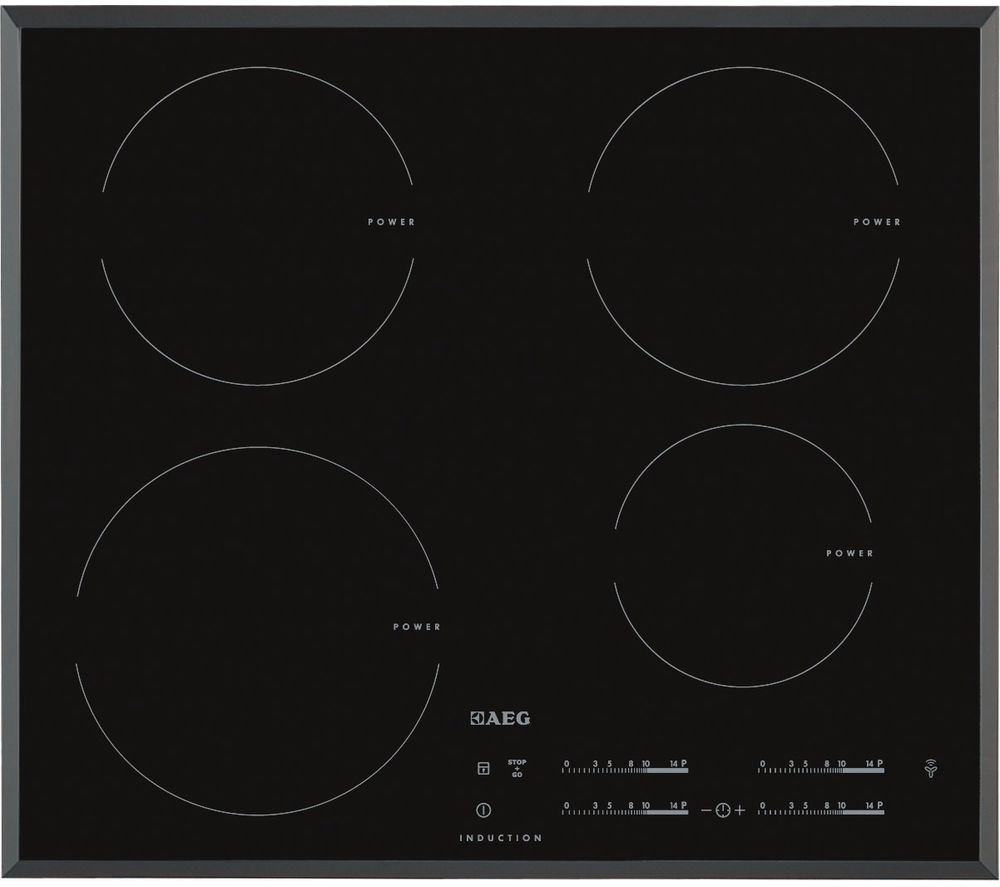 AEG  HK6542H0FB Electric Induction Hob  Black Black