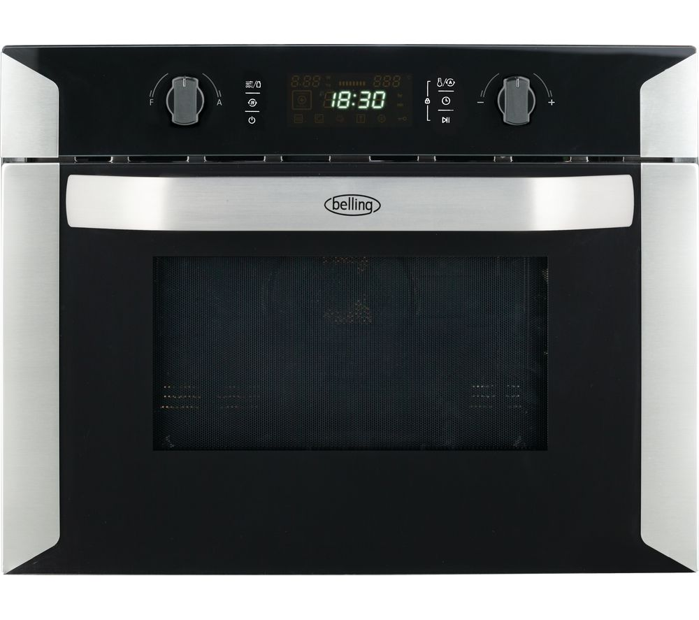BELLING BI60COMW Built-in Combination Microwave - Black