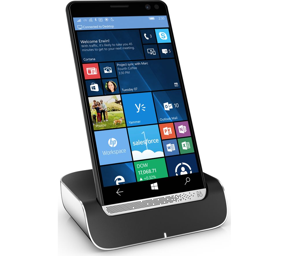 HP Elite x3 with Dock - 64 GB, Black