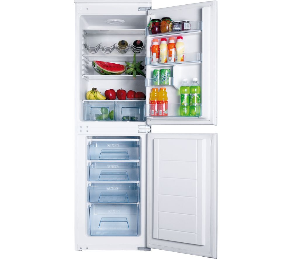 AMICA BK296.3FA Integrated 5050 Fridge Freezer
