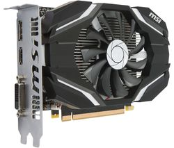 MSI GeForce GTX 1050Ti 4G OC Graphics Card