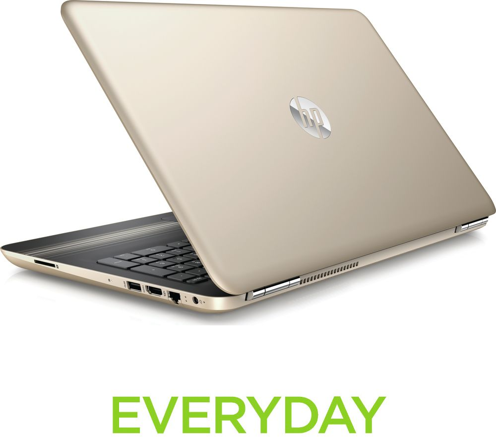 HP  Pavilion 15au174sa 15.6 Laptop  Gold Gold