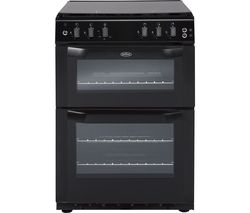 BELLING FSG55TCF 55 cm Gas Cooker - Black
