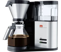 MELITTA AromaElegance Filter Coffee Machine - Black & Stainless Steel