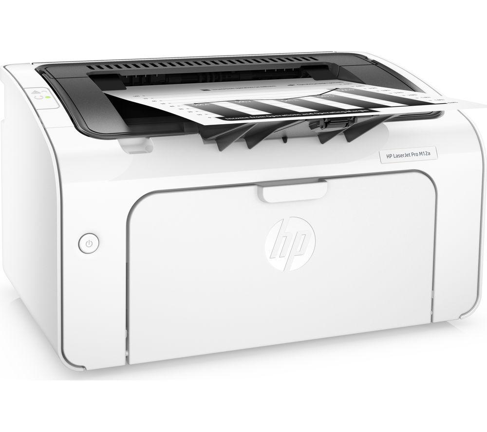 HP LaserJet Pro M12A Monochrome Laser Printer
