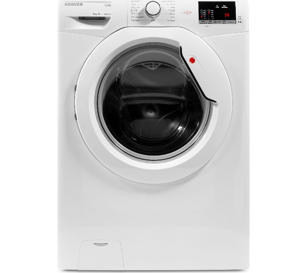 HOOVER Dynamic Link DHL 1482D3 NFC 8 kg 1400 Spin Washing Machine - White