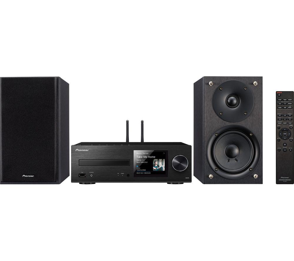 PIONEER X-HM76-B Wireless Traditional Hi-Fi System - Black