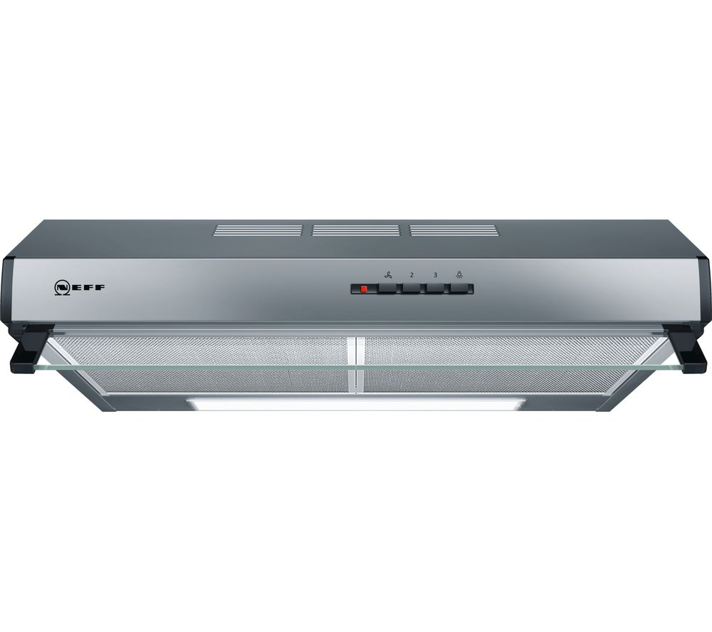 buy neff d61lac1n0b visor cooker hood stainless steel free delivery currys. Black Bedroom Furniture Sets. Home Design Ideas