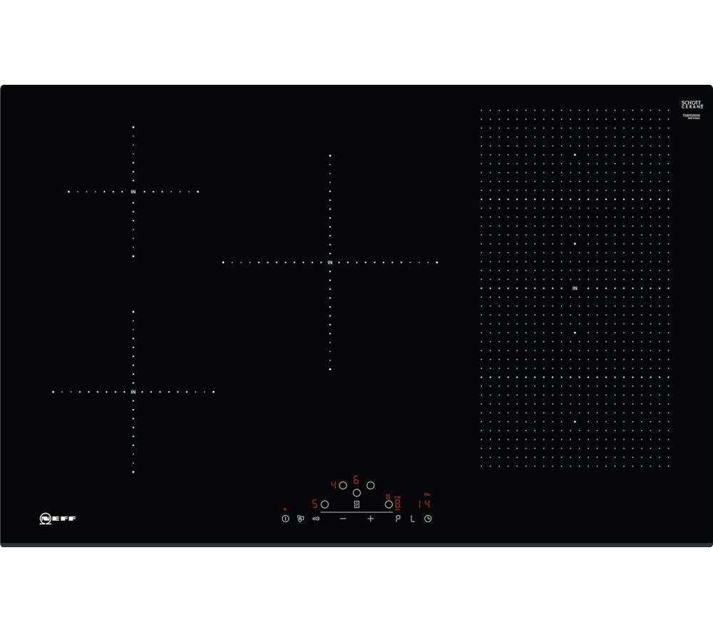 NEFF T58FD20X0 Electric Induction Hob - Black