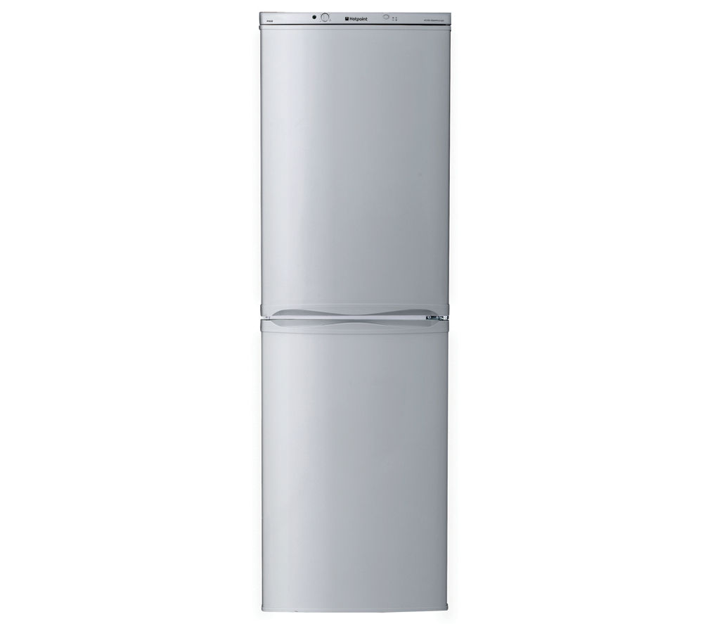 HOTPOINT  FFAA52S Fridge Freezer  Silver Silver