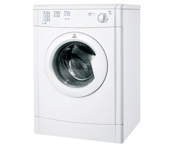 Indesit IDV75 Vented Tumble Dryer - White, White