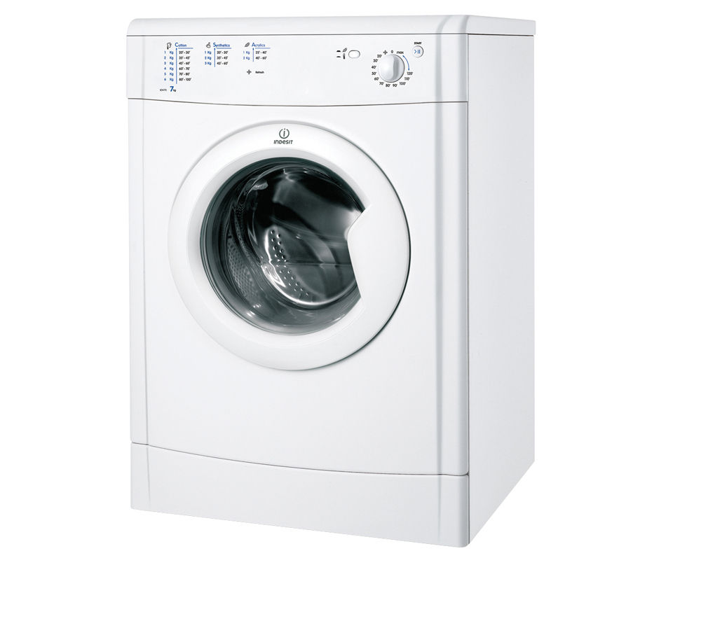 INDESIT IDV75 Vented Tumble Dryer - White