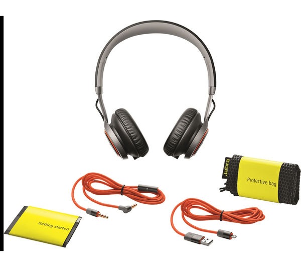 jabra revo wireless bluetooth headphones silver deals pc world. Black Bedroom Furniture Sets. Home Design Ideas