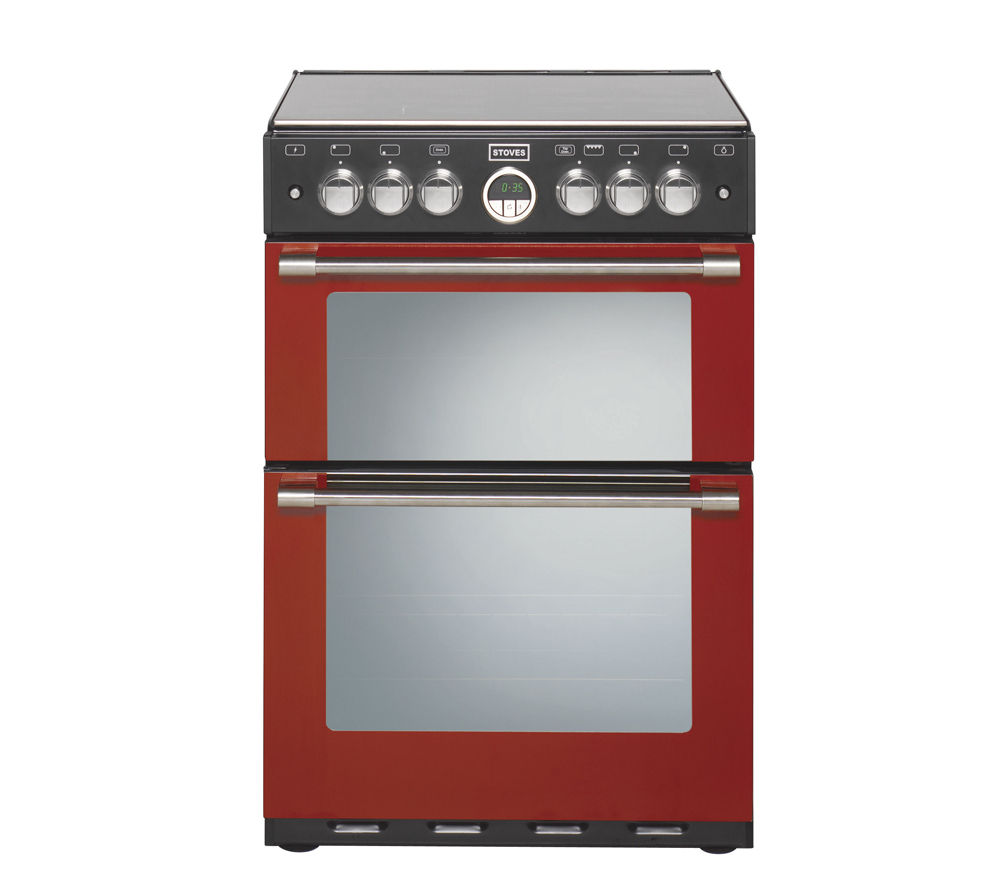 STOVES Sterling 600G Gas Cooker - Red