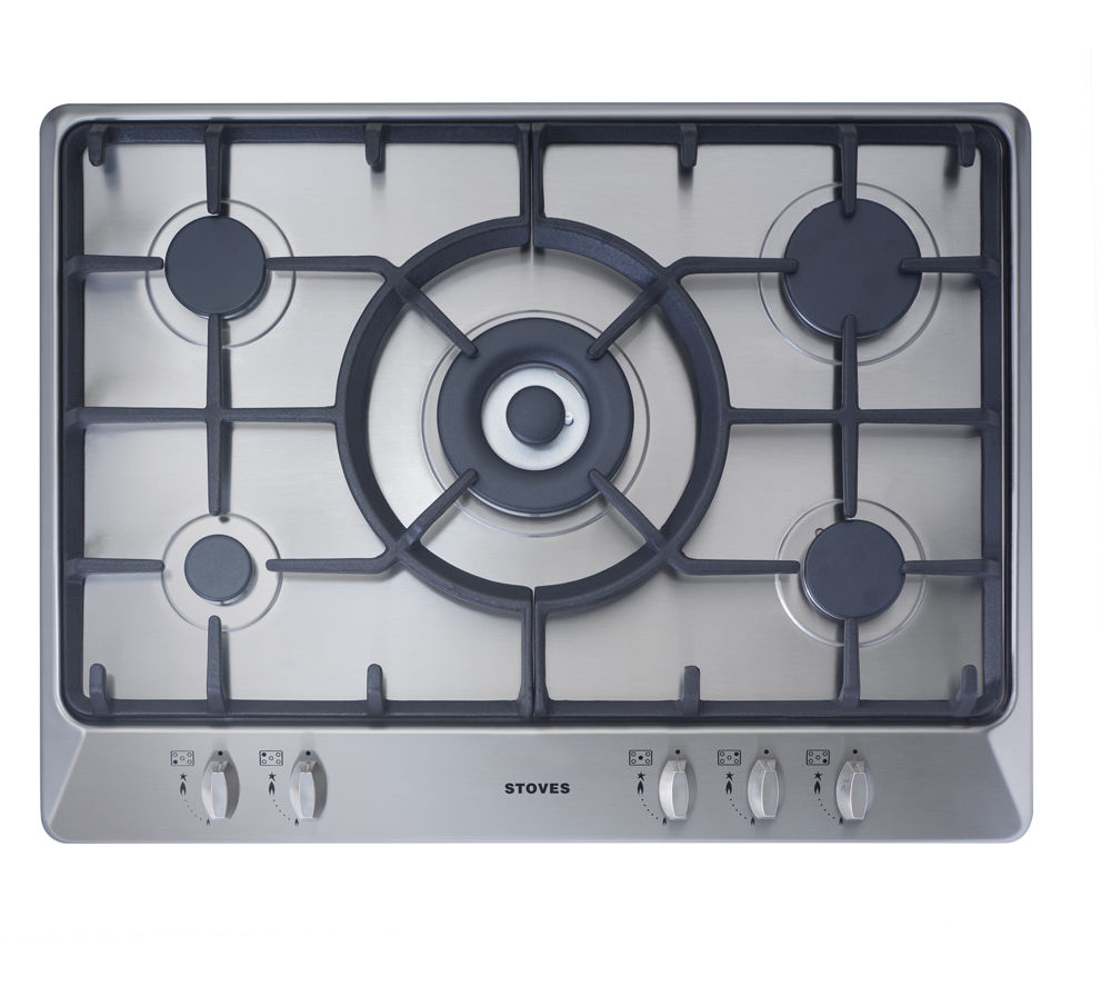 how to clean stainless steel hob rings