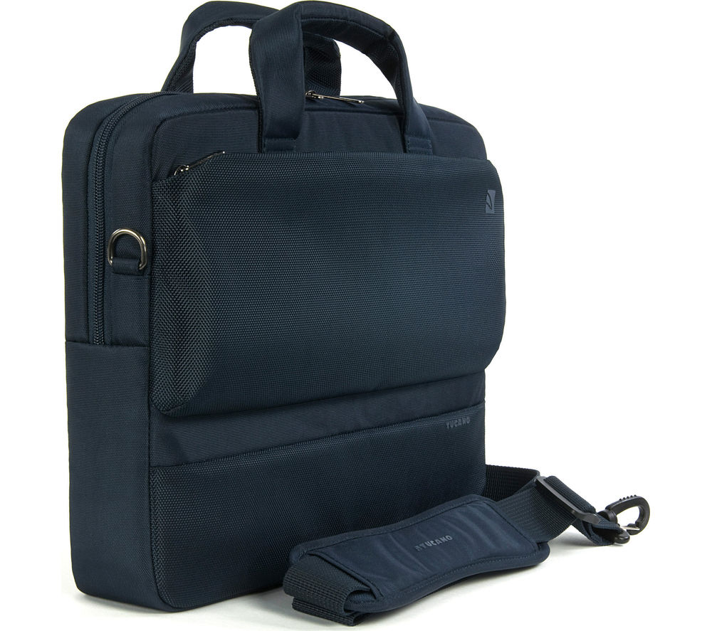 "Image of Tucano Dritta Slim 14"" Laptop Bag - Blue"