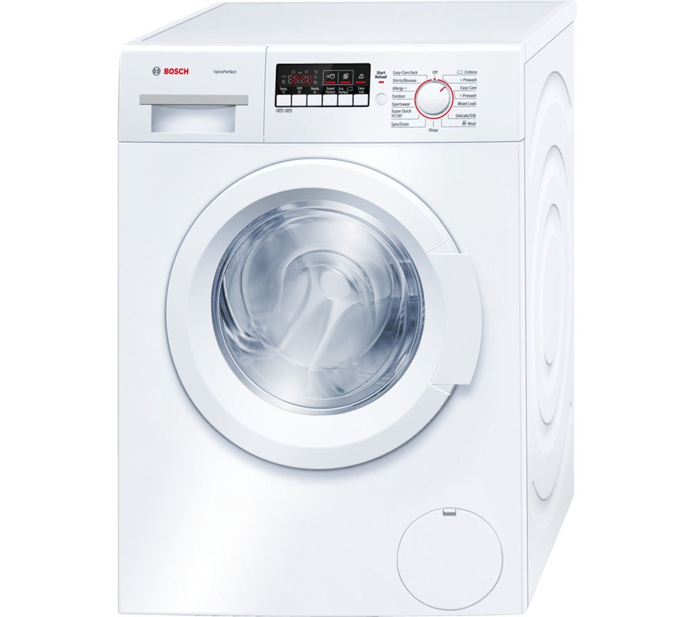 buy bosch wak28260gb washing machine white free. Black Bedroom Furniture Sets. Home Design Ideas