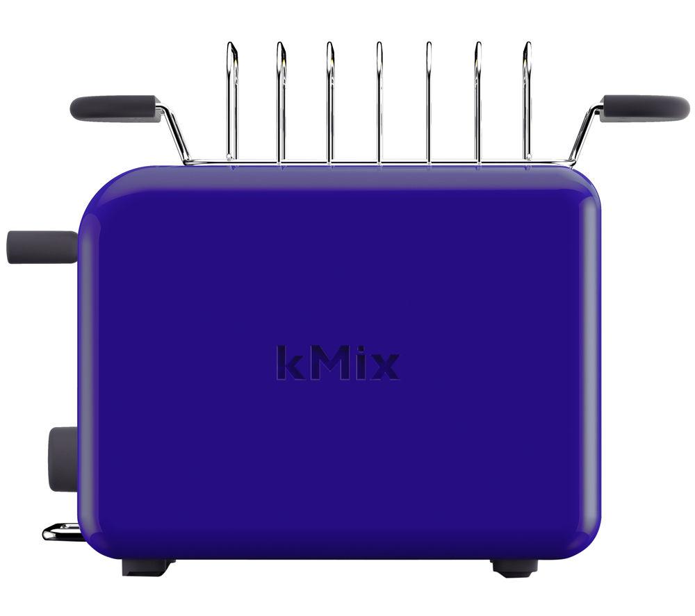 buy kenwood kmix ttm020bl 2 slice toaster blue free delivery currys. Black Bedroom Furniture Sets. Home Design Ideas