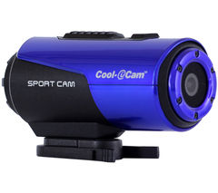 Cool iCAM S3000B Action Camcorder - Blue