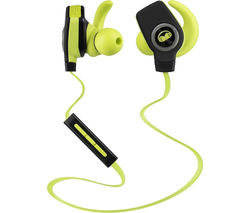 MONSTER iSport SuperSlim Wireless Bluetooth Headphones - Green