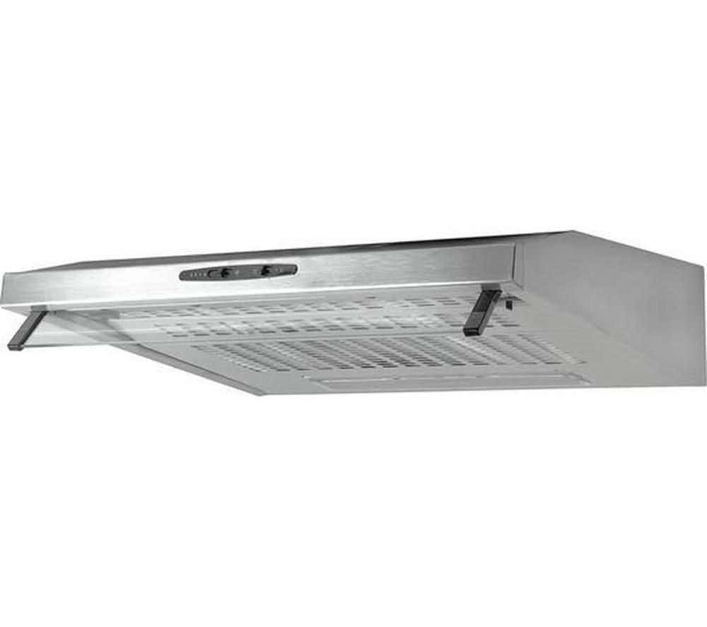 ESSENTIALS C60SHDX15 Visor Cooker Hood - Stainless Steel