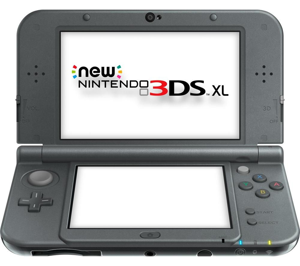 NINTENDO 3DS XL - Metallic Black