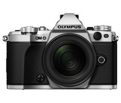 OLYMPUS OM-D E-M5 Mark II Compact System Camera with M.ZUIKO 12-50 mm f/3.5-6.3 Zoom Lens - Silver