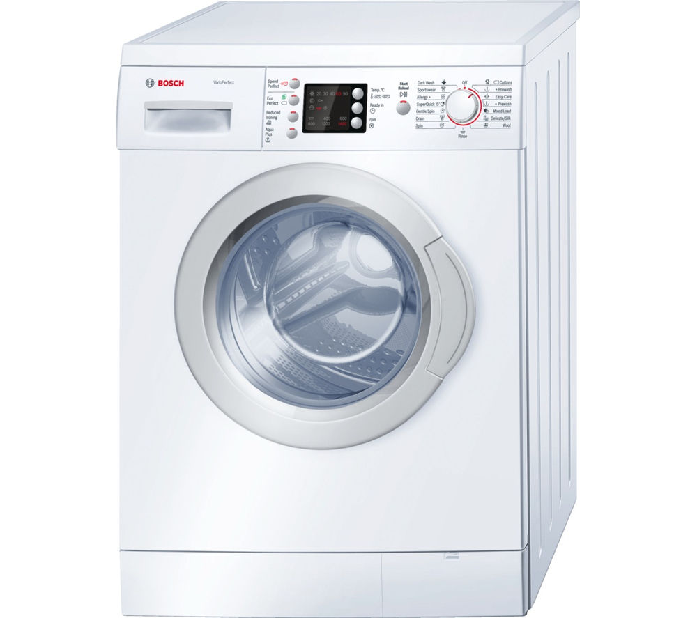 bosch wae28462gb washing machine white. Black Bedroom Furniture Sets. Home Design Ideas
