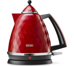 DELONGHI Brillante KBJ3001 Jug Kettle - Red