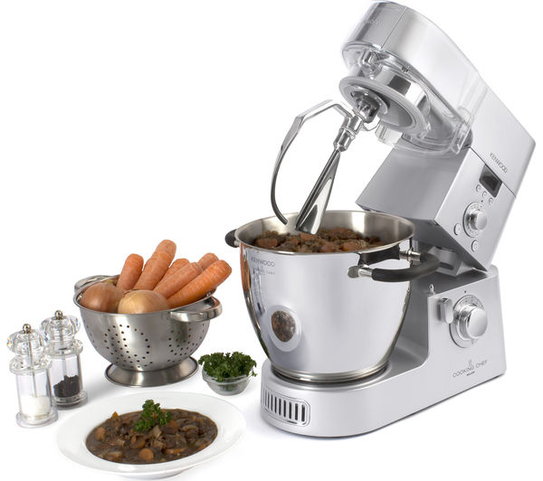 Buy kenwood cooking chef km086 stand mixer silver free for Kenwood cooking chef accessoire
