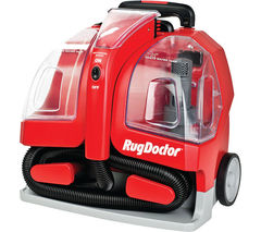 RUG DOCTOR 93306 Portable Spot Cylinder Carpet Cleaner - Red