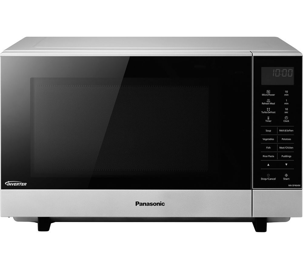 PANASONIC NNSF464MBPQ Solo Microwave  Stainless steel Stainless Steel