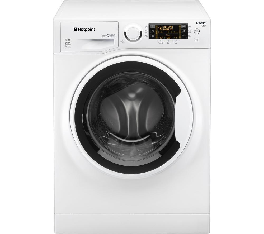 HOTPOINT Ultima S-line RPD9647J Washing Machine - White