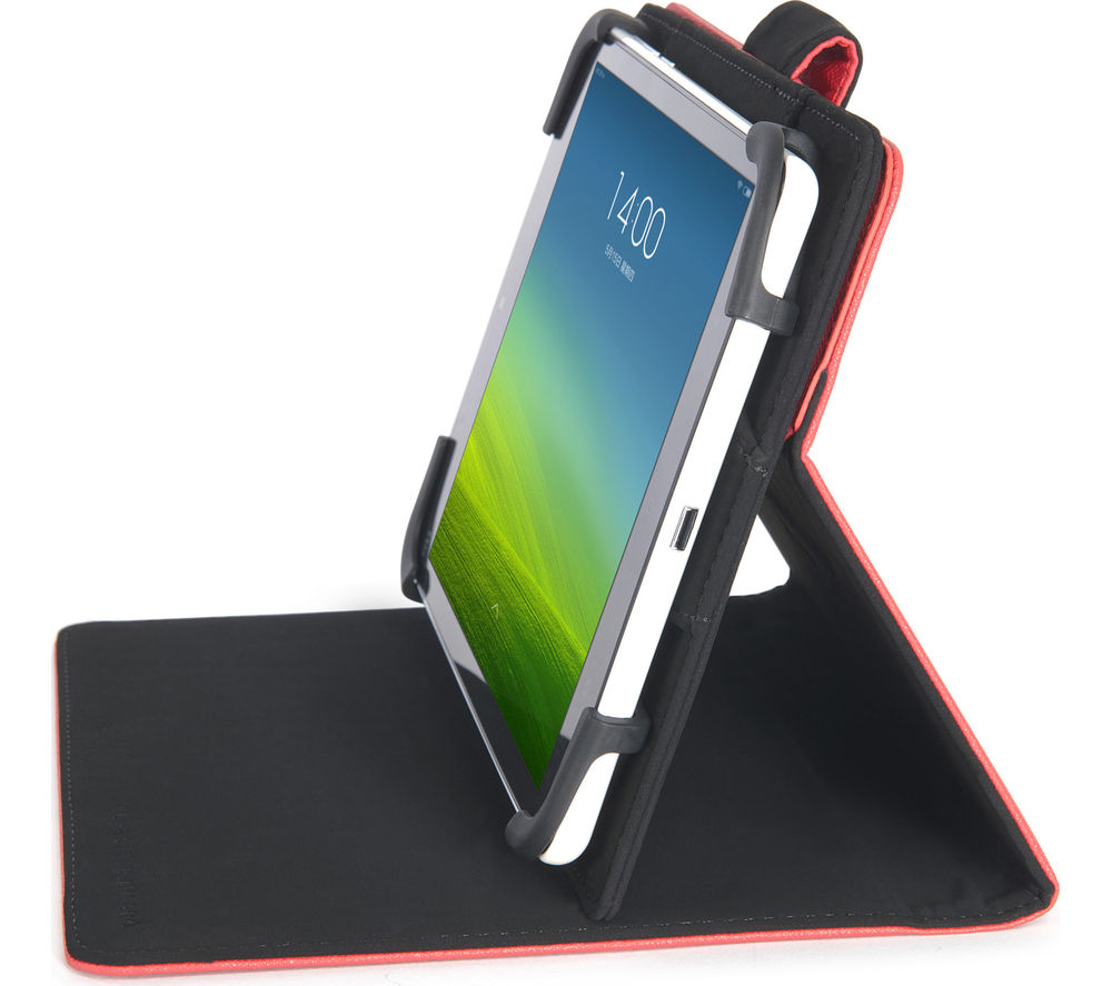 Tucano Uncino Rotational Tablet Case - Red, Red