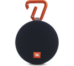JBL Clip 2 Portable Wireless Speaker - Black