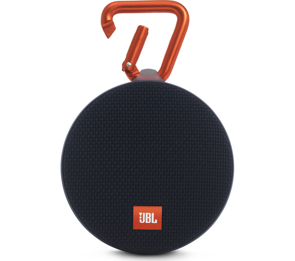 Click to view more of JBL  Clip 2 Portable Wireless Speaker - Black, Black
