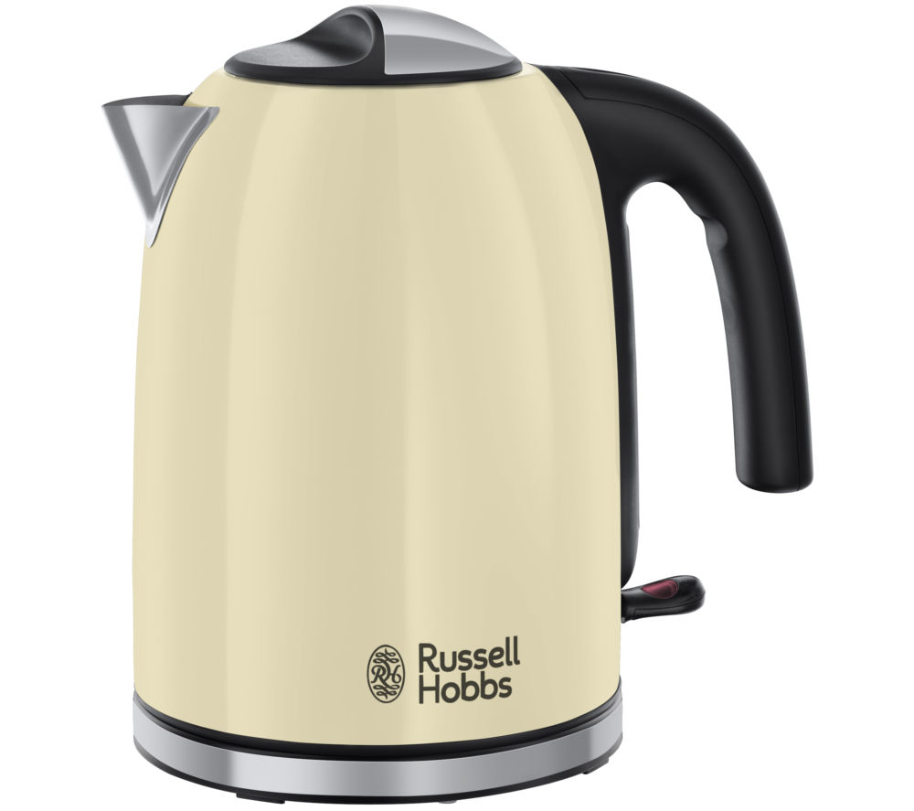 RUSSELL HOBBS  Colour Plus 20415 Jug Kettle  Cream Cream