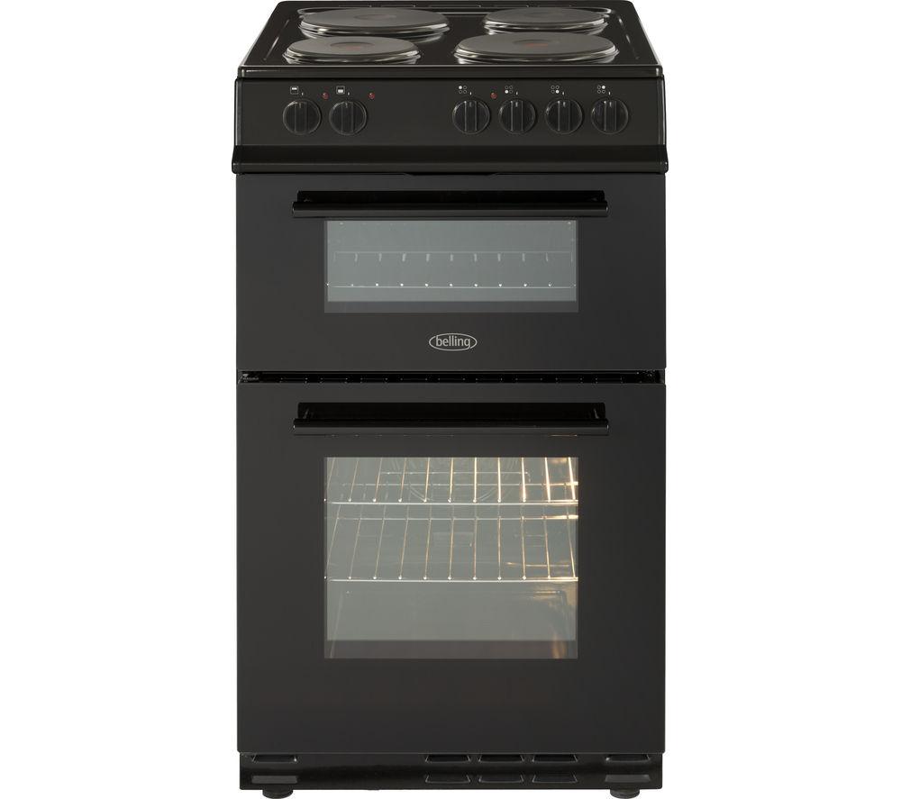 BELLING FS50ET 50 cm Electric Cooker - Black