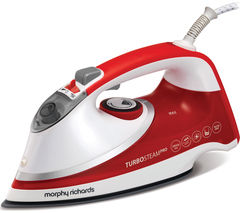 MORPHY RICHARDS Turbosteam Pro 303116 Steam Iron - Red & White