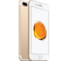 APPLE iPhone 7 Plus - Gold, 256 GB