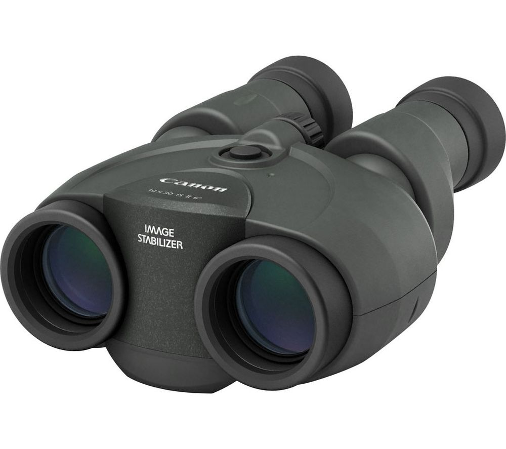 CANON CAN2532 10 x 30 mm IS II Binoculars - Black