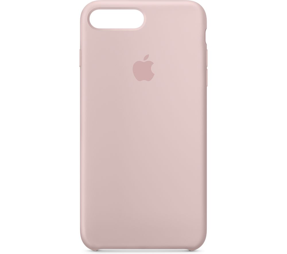 APPLE Silicone iPhone 7 Plus Case - Pink Sand