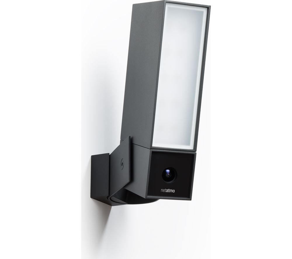 buy netatmo presence outdoor security camera with light free. Black Bedroom Furniture Sets. Home Design Ideas