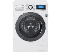 LG FH495BDS2 Smart Washing Machine - White