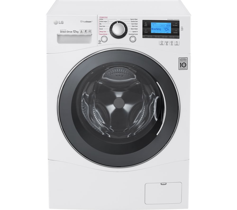 LG  FH495BDS2 Smart Washing Machine  White White