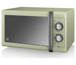 SWAN Retro SM22070GN Solo Microwave - Green