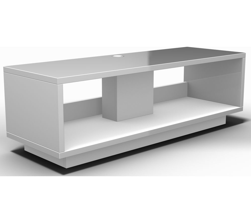 schnepel varic 2 0 tv stand white matte deals pc world. Black Bedroom Furniture Sets. Home Design Ideas