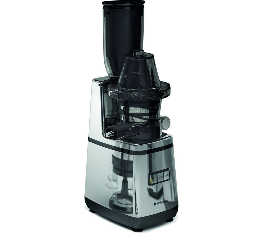 Hotpoint Slow Juicer 400 Watt Silver : Buy HOTPOINT SJ 15XL UP0 Juicer - Silver Free Delivery Currys
